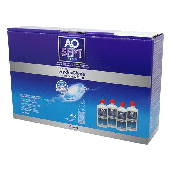 AOSEPT PLUS mit HydraGlyde 4x360ml
